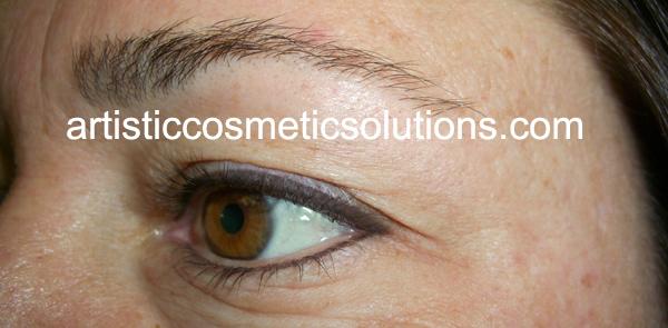 Permanent Eyeliner Both Eyelids
