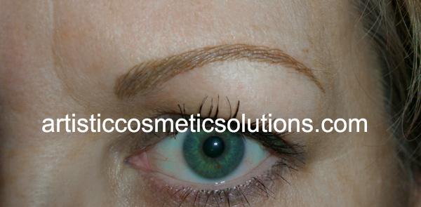 Microbladed Eyebrow Creation