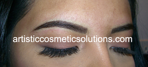 permanent eyebrows, meridian, Idaho