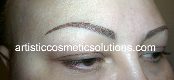 Permanent Eyebrow Creation