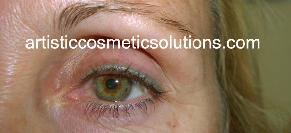 Permanent Cosmetic Makeup Eyeliner, Boise Idaho